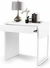 Dioche Computer Desk White Modern Computer