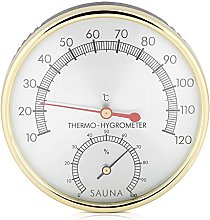 Dioche Sauna Thermometer, Metal Dial Indoor