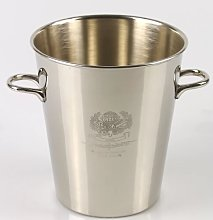 Dion Cooler Steel Champagne Bucket Marlow Home Co.
