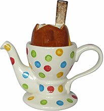 Dippy Egg Two Cup Teapot Carters of Suffolk