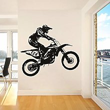 Dirt Bike Motocross Wall Decal Motorcycle Cool