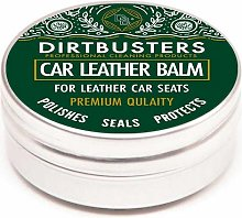 Dirtbusters car seat leather balm cleaner and
