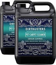 Dirtbusters pet carpet cleaner 2 x 5 litre