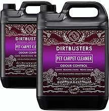Dirtbusters Pet Carpet Cleaner 2x5 Litre
