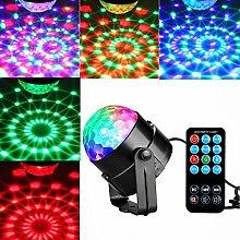 Disco Ball Lights RGB 7 Color LED Strobe Light