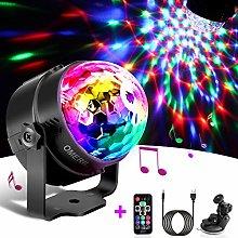 Disco Lights, OMERIL Sound Activated Disco Ball