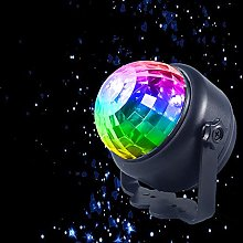Disco Lights, with Night Light Mode, Colorful