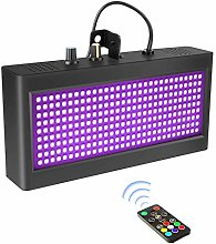 Disco Strobe Light, longziming 270 LED Party