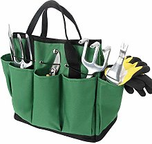 Discoball Gardening Tote Bag,Oxford Garden Tools