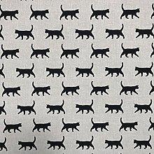 Discover Direct Kitty Black Design Cotton Rich