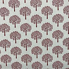 Discover Direct Mulberry Tree Red Design Cotton