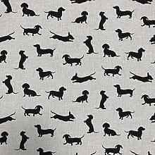 Discover Direct Sausage Dog Black Design Cotton