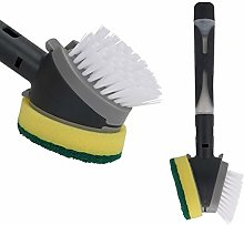 Dish Brush and Sponge with soap Dispenser Cleaner