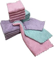 Dish cloth, Super absorbent double-sided dish