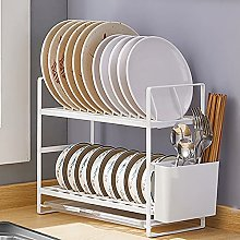 Dish Drainer,Iron and Excellent Plastic Material