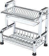 Dish Drainer,Kitchen Countertop ompact Dish Rack