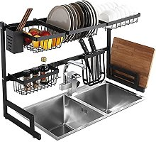 Dish Drainer,Practical Stainless Steel Over Sink