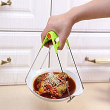 Dish Plate Bowl Clip Stainless Steel Anti Scalding