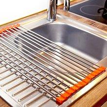 Dish Rack Delindo Lifestyle Finish: Orange, Size:
