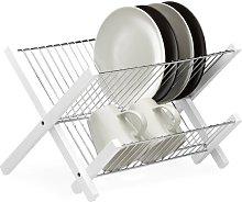 Dish Rack Frame Symple Stuff Finish: White/Silver