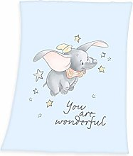Disney's Dumbo Flannel Fleece Blanket Baby