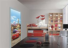 Disney Cars Mcqueen Sally Photo Mural Wallpaper