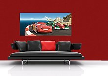 Disney Cars Mountain Run Photo Mural Wallpaper for