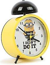 Disney Dave Minions Alarm Clock, Yellow, 13 x 10 x