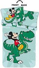 Disney Dinosaur Toddler Bedding Featuring Mickey