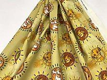 Disney Fabrics, Cotton Fabrics, King Lion Fabrics,
