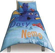 Disney Finding Dory & Nemo Single Duvet Pillow