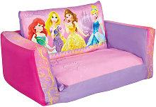 Disney Foldable Sofa Princess 105x68x26 cm Pink