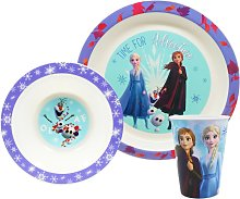 Disney Frozen 2 Three Piece Tableware Gift Box