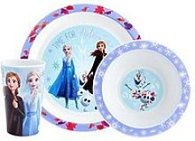 Disney Frozen Frozen Ii 3 Piece Tableware Set