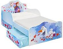 Disney Frozen Toddler Bed With Storage Drawers By