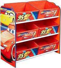 Disney Kid's Storage Unit Cars Red 60x30x64 cm