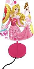 Disney Kids Princess Lamp - Pink
