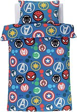Disney Marvel Fleece Bedding Set - Single