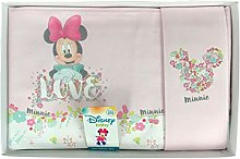 Disney Matching Baby Cot Minnie Baby Girl Set 3