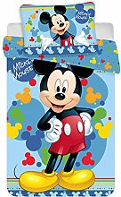 Disney Mickey Mouse Baby Bedding Set 135 x 100 cm
