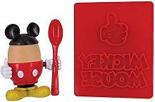 Disney Mickey Mouse Egg Cup & Toast Cutter Set |
