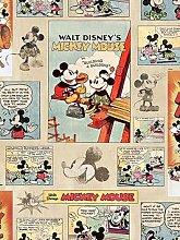 Disney Mickey Vintage Episode Wallpaper, Multi