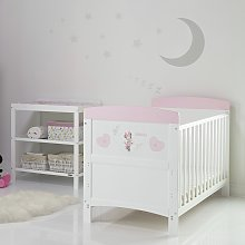 Disney Minnie Mouse 2 Piece Nursery Furniture Set