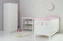 Disney Minnie Mouse 3 Piece Nursery Furniture Set
