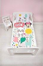 Disney Minnie Mouse Children's Cot Bed Duvet