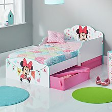 Disney Minnie Mouse Toddler Bed, Drawers & Kids