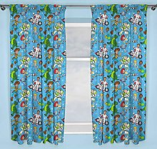 Disney Official Toy Story 4 Blue Curtains Perfect
