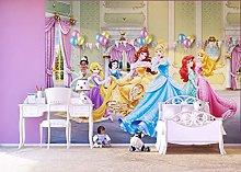 Disney Princess 4 Part Photo Mural Wallpaper for