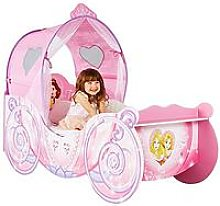 Disney Princess Carriage Toddler Bed, One Colour