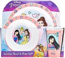 Disney Princess Childrens/Kids Tableware Set (Pack
